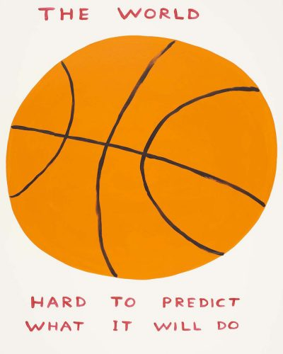 The World by David Shrigley at