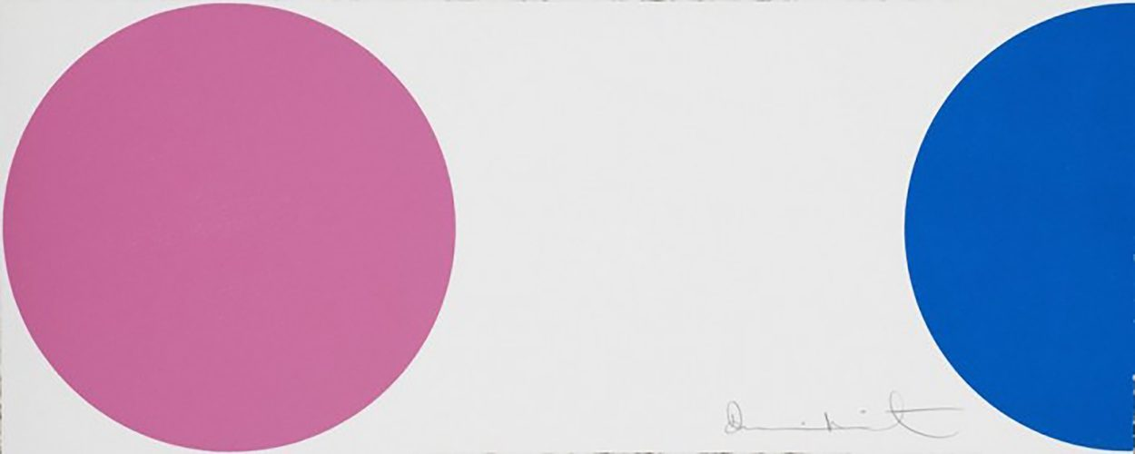 Quinizarian by Damien Hirst at
