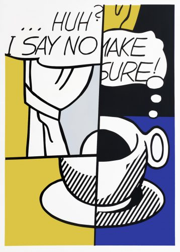 … Huh? by Roy Lichtenstein at