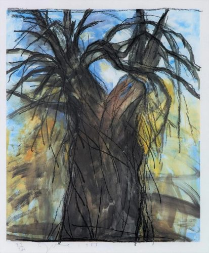 The New Year's Tree by Jim Dine at