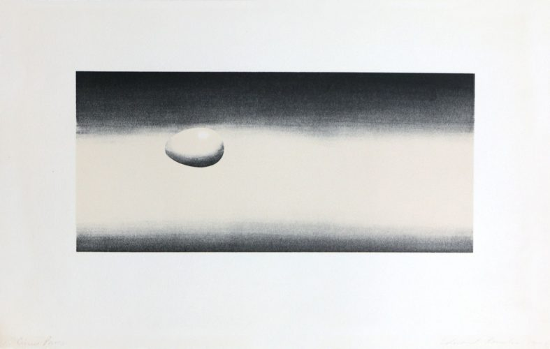 Domestic Tranquility: Egg by Ed Ruscha at