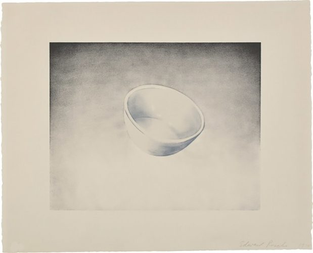 Domestic Tranquility: Bowl by Ed Ruscha at