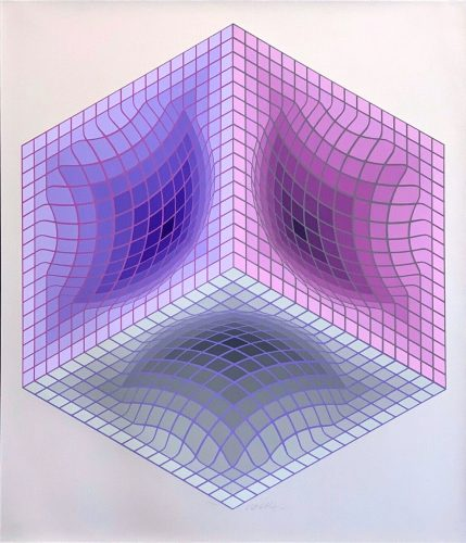 Tridos s by Victor Vasarely at