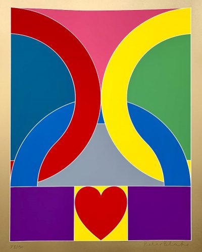 Olympic Symbol (2020) by Peter Blake at
