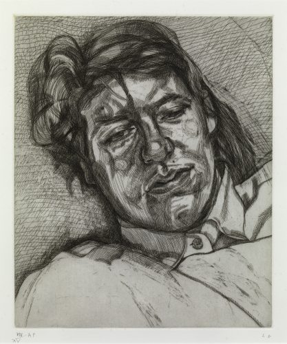 Bella by Lucian Freud at