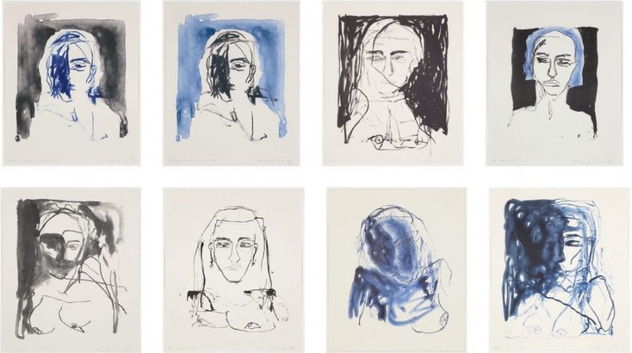 These Feelings Were True (Set of 8) by Tracey Emin at Rhodes Contemporary Art