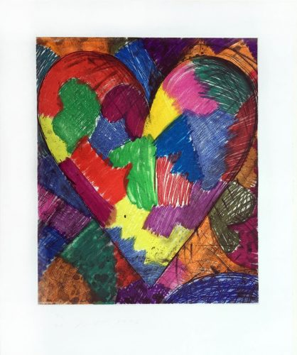 A Beautiful Heart by Jim Dine at