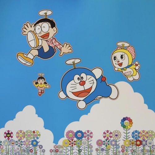 So Much Fun, Under the Blue Sky by Takashi Murakami at
