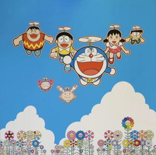 Wouldn't it be Nice if We Could Do This and That by Takashi Murakami at