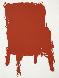 Red Chair by Humphrey Ocean RA at