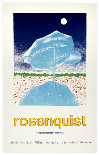 Galleria del Milione 1972 (Delivery Hat 1970) by James Rosenquist at