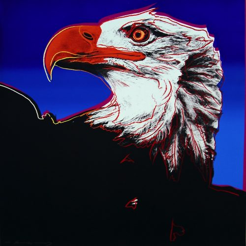 Bald Eagle, from Endangered Species by Andy Warhol at