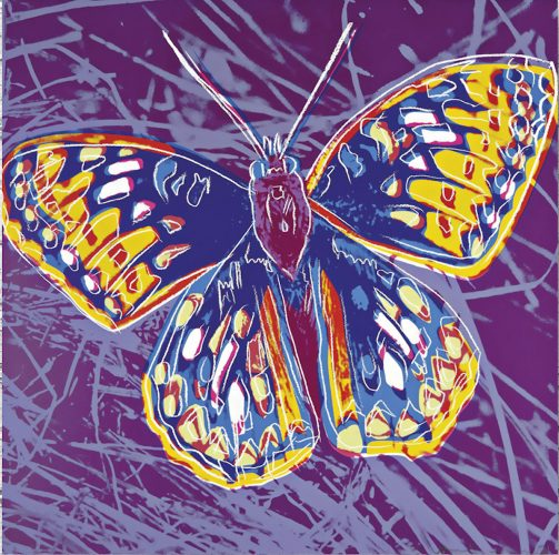 San Francisco Silverspot Butterfly, from Endangered Species by Andy Warhol at