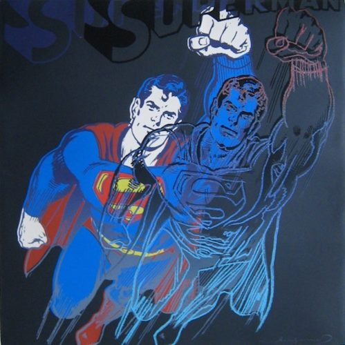 Superman, from Myths by Andy Warhol at