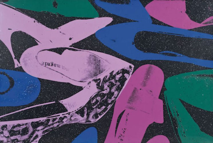 Shoes – F.S. II 254 by Andy Warhol at