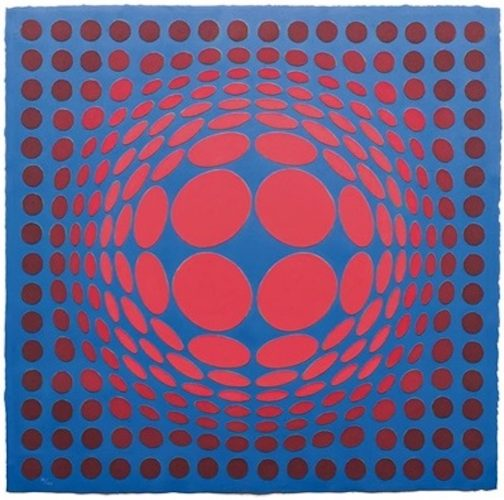 Sinlag ii by Victor Vasarely at