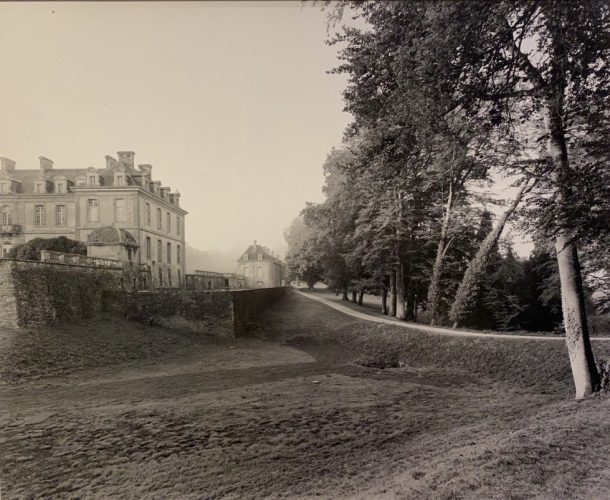 Kerguebennec, Read of Chateau at Side by Geoffrey James at