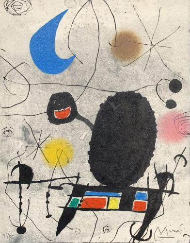 L'Oiseau Solaire by Joan Miro at