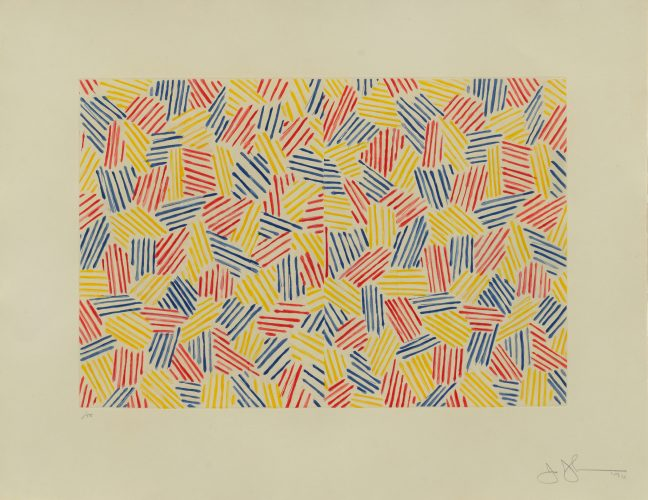 Untitled 1 by Jasper Johns at