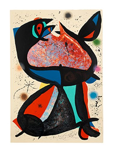 Nestor by Joan Miro at