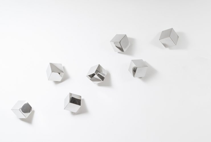 Chatterboxes, Point of View (set of 7 cubes) by Lori Cozen-Geller at