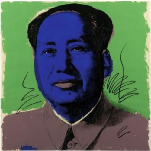 Mao (FSII. 99) by Andy Warhol at Burgess Modern + Contemporary
