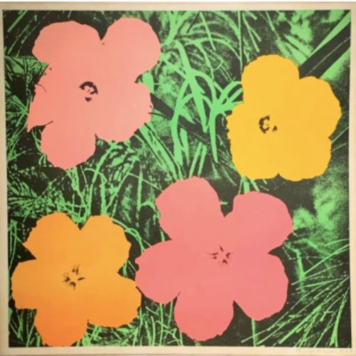 Flowers by Andy Warhol at Burgess Modern + Contemporary