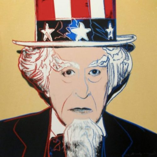 Uncle Sam from Myths (FS II. 259) by Andy Warhol at Burgess Modern + Contemporary