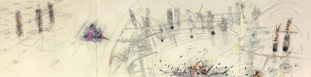 It's Not A Question of Superman by Roberto Matta at