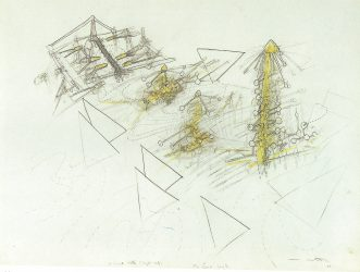 Mind Beaters by Roberto Matta at