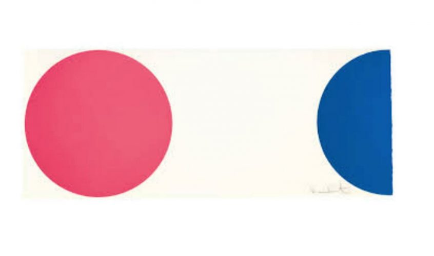 Quinizarin by Damien Hirst at