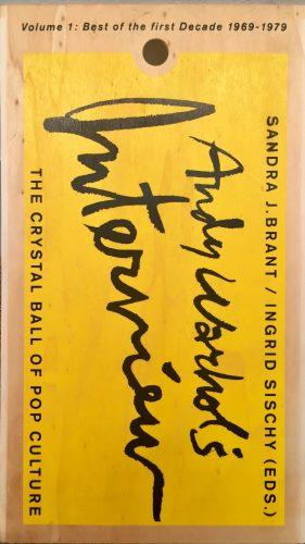 Andy Warhol's Interview Magazine Vol. 1 by Andy Warhol at