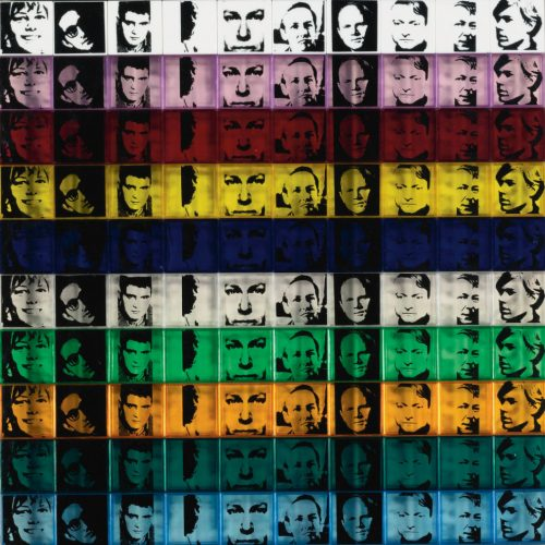 Portraits of the Artists by Andy Warhol at