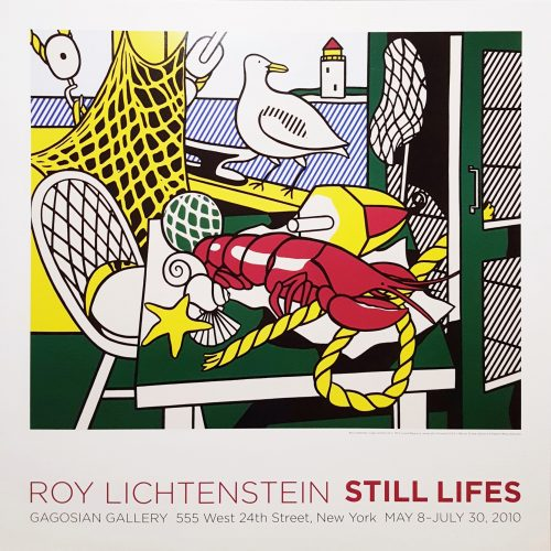 Gagosian Gallery (Cape Cod Still Life II) by Roy Lichtenstein at