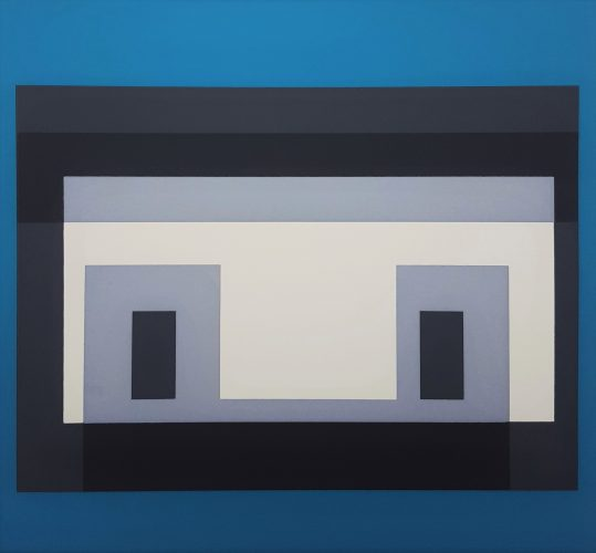 Variant iv by Josef Albers at