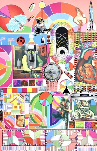 Bash (pink) by Eduardo Paolozzi at