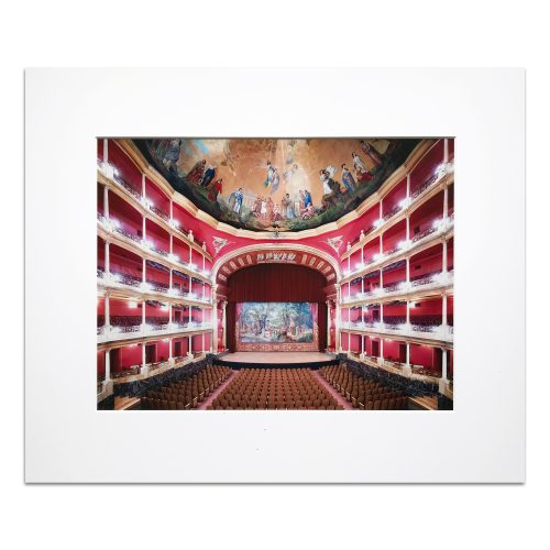 Teatro Degollado Guadalajara III by Candida Hofer at