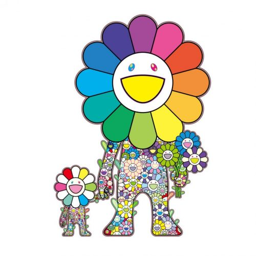 Flower Parent and Child by Takashi Murakami at