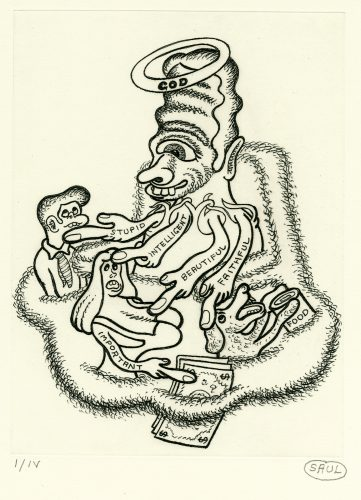 untitled by Peter Saul at