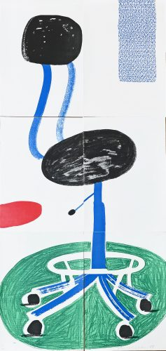 Office Chair by David Hockney at