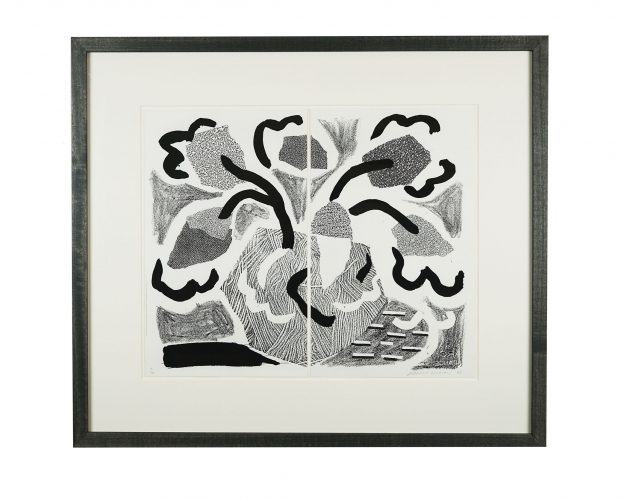 Grey Blooms by David Hockney at Hidden