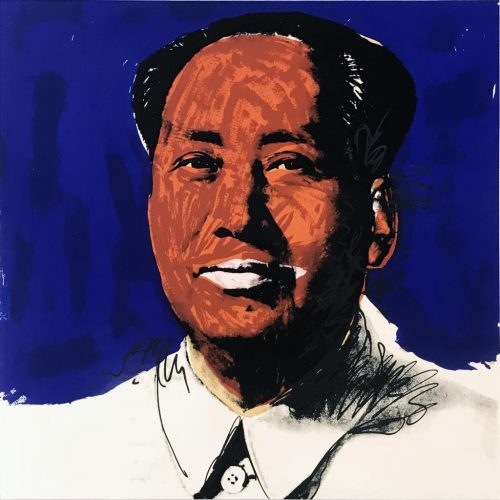 Mao II.98 by Andy Warhol at