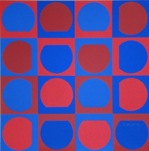 Composition by Victor Vasarely at