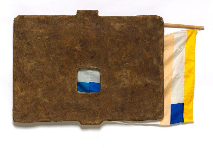 Capital (from Bones and Unions Series) by Robert Rauschenberg at