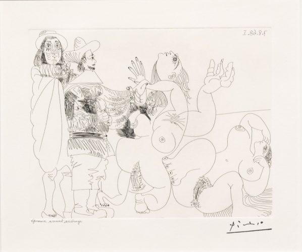 Jeune Seigneur Fantoche…, from the 347 Series by Pablo Picasso at