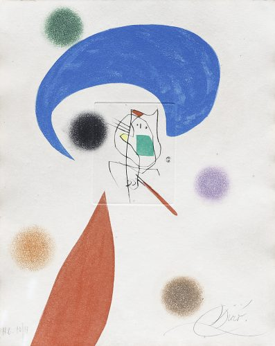 Mobles Juncosa by Joan Miro at