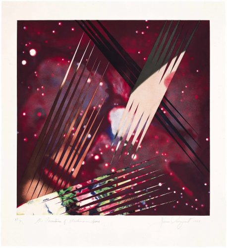 The Persistence of Electrons in Space by James Rosenquist at