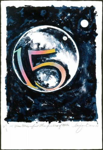 15 Years Magnified Through a Drop of Water by James Rosenquist at