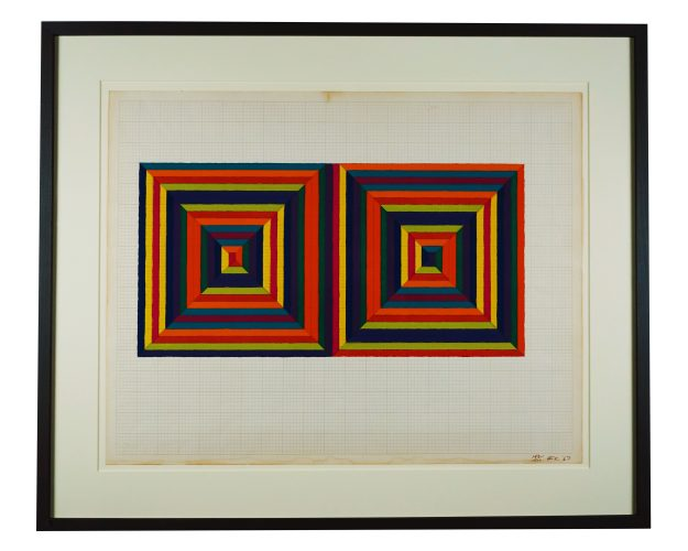 Fortin de las Flores by Frank Stella at