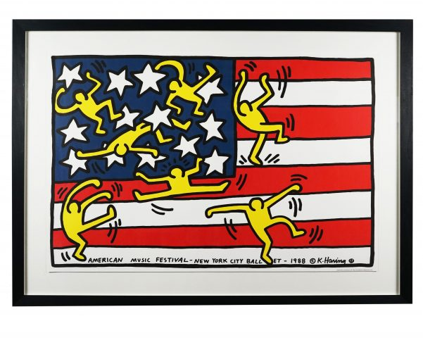 American Music Festival New York City Ballet, by Keith Haring at Hidden